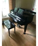 K Kawai GM-1 Baby Grand Piano 1993 Black Ebony with bench - $6,930.00
