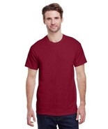 Gildan G200 Adult Antique Cherry Red Ultra Cotton T shirt Size S  Nwot - $8.11