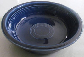 New Fiesta-Cobalt Blue Soup Bowl by Homer Laughlin - $17.99