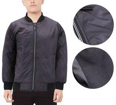 Boy's Insulated Full Zip Up Soft Fleece Lining Juniors Flight Bomber Jacket