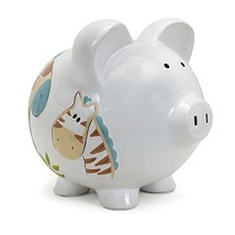 Child to Cherish Piggy Bank Large, Jungle Jack - $33.10