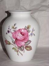 "Spode Flowered Fine Bone China Vase 5 1/4"" - $14.84"