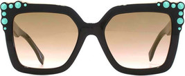 Fendi Sunglasses FF0260/S 3H2 00 Black Pink / Brown Pink Gradient 52mm A... - $121.25