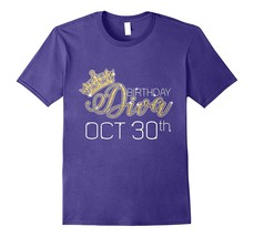 Birthday-Diva-on-October-30th-T-shirt-Libra-Pride-Men*-Fu2NY - $17.95+