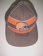 Cleveland Browns NFL AFC Reebok Adult Unisex Brown Orange Baseball Cap S/M New - $22.76