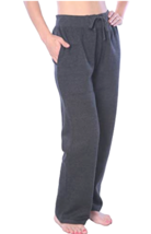 Beverly Rock Woman Drawstring Pocket Sweatpants, CHARCOAL GREY , 1X NEW W/TAGS image 3