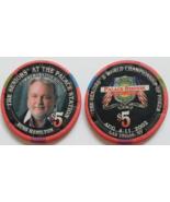 The Seniors Russ Hamilton @ Palace Station Las Vegas $5 Commemorative Chip - $9.95