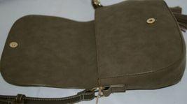 Amanda Blu Company Tassel Saddle Bag Purse 85137 Sage Color image 4