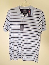 Chaps Men's Size M Multi-Color S/S Polo Shirt 60% OFF New With Tags Anti... - $17.82