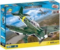 COBI Small Army/Junkers Ju 87B Stuka Building Kit, Multicolor - $57.12