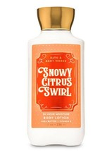 Bath & Body Works Snowy Citrus Swirl Super Smooth Body Lotion 8oz/236ml New - $11.88
