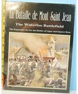La Bataille de Mont Saint Jean Waterloo Battlefield Expansion Clash Arms... - $306.90