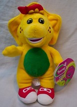 "Fisher-Price Barney Buddies SOFT YELLOW BJ DINOSAUR 8"" Plush Stuffed Ani... - $19.80"