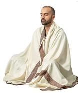 Meditation Shawl by Om Shanti Crafts | Prayer Shawl for Daily Meditation... - $49.99
