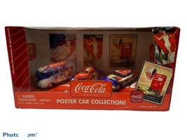 Coca-Cola Johnny Lightning 2003 1:64 Diecast Poster Car Collection In Box - $20.79