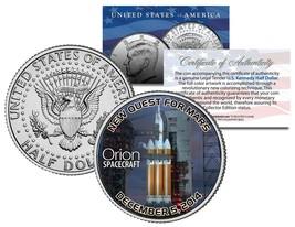 ORION Spacecraft NASA Test Flight 2014 JFK Half Dollar Coin - NEW QUEST ... - $8.56