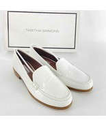 Tabitha Simmons Blakie White Patent Leather Loafer Womens 36 or 6 NIB - $200.00