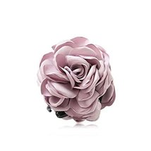 Fashion Verisimilitude ROSE Jaw Clip Hair Styling Claws, 3.1 inches,LIGHT PURPLE