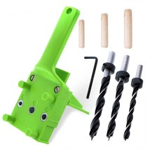ABS Plastic Woodworking Handheld Pocket Hole Jig for 6/8/10mm Drill Bit ... - $24.30