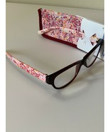 Foster Grant Reader's Choice +2.75 Blaine Pink Paisley Reading Glasses w... - $10.00