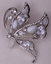 Butterfly Brooch Pin Austrian Crystal Cute Fashion Jewelry Gifts For Wom... - $9.29