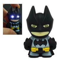 BATMAN KEYCHAIN w LED Light and Sound Comic Book Superhero Toy Key Ring ... - $6.95