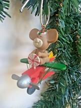 Enesco Festive Flight Clothespin Parade Flying Mouse Christmas Tree Orna... - $10.73