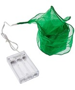 The Gerson Company 7'L Ribbon With Lights, Green - $10.20