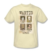 DC Comics Villians Wanted Poster T shirt Joker 100% cotton graphic tee DCO451 image 2