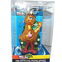 Sesame Street Kurt S Adler Big Bird Blown Glass Christmas Tree Ornament - $49.99