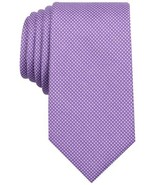 Perry Ellis Mens Micro Dot Self-Tied Neck Tie (Purple) - $31.95