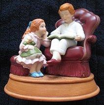 Vintage 1983 AVON Christmas Memories Series Porcelain Figure, Enjoying the Night - $26.72