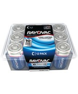 Rayovac Alkaline Batteries Reclosable Pro Pack (c, 12 Pk) RVC81412PPF - $29.95