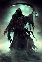 Haunted Amulet Reaper Scythe Death Spirit Pain Suffering Torment Revenge - $840.00