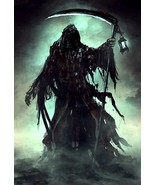 Haunted Amulet Reaper Scythe Death Spirit Pain Suffering Torment Revenge - $840.00