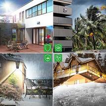 Solar Lights Outdoor, Mitaohoh 82 LEDs Wireless Waterproof Solar Motion Sensor L image 5