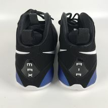 Nike Air Max WAVY Men's size 11 Basketball Shoes Penny Blue Black AV8061 002 image 5