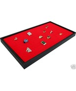 144 RED RING JEWELRY DISPLAY CASE ORGNIZER INSERT NEW - $16.85