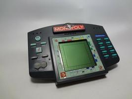 Monopoly Handheld Electronic Game *WORKS* Hand Held Hasbro TALKING  - $29.61