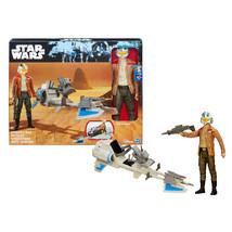 Star Wars Vehicle Action Figure Speeder Bike + Poe Dameron - $24.00