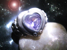 Haunted Ring Relationship Lock Secure Your Rlationship Ooak Magick Magickal - $9,077.77