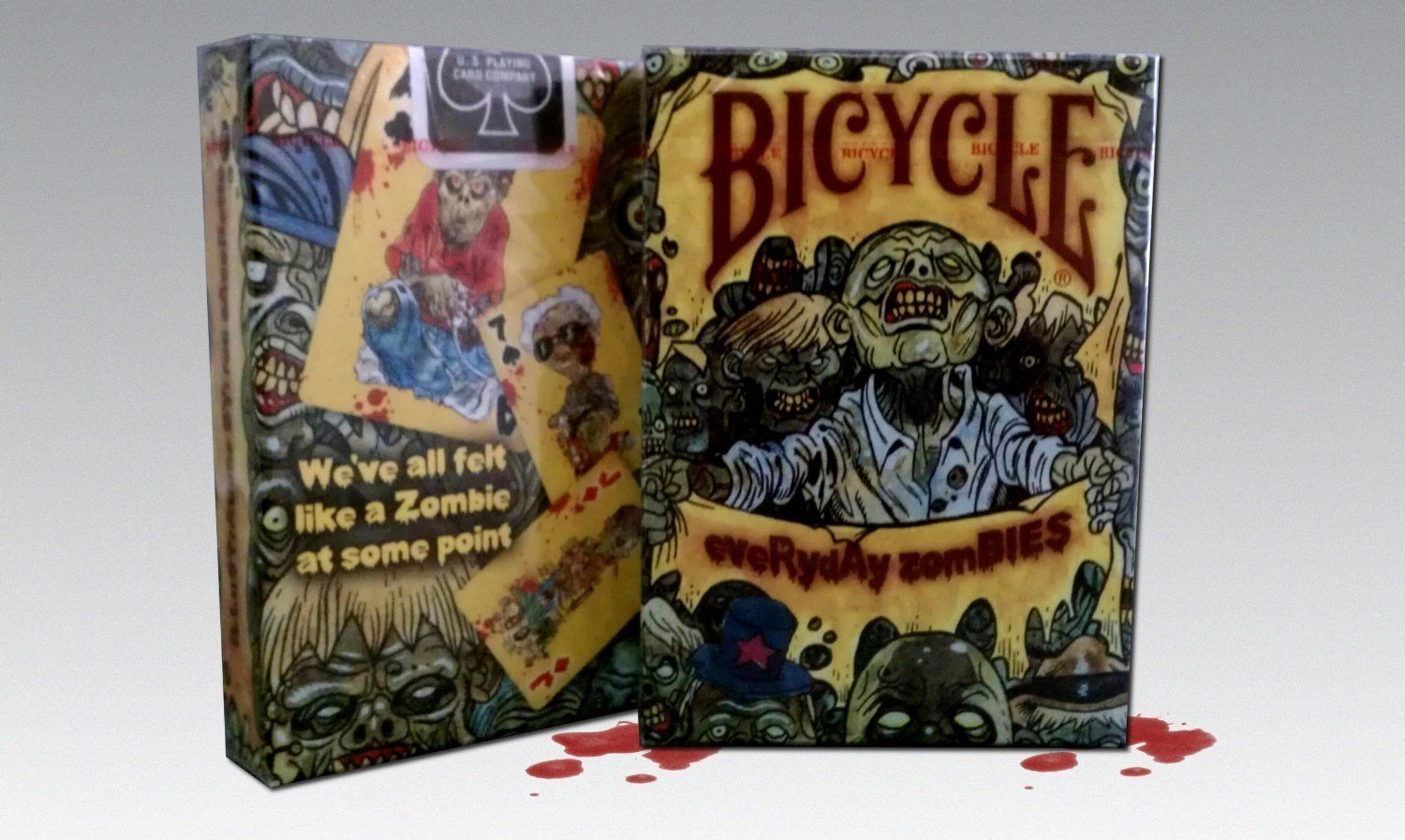 Bicycle Everyday Zombie Playing Cards  New  Free shipping - $7.87