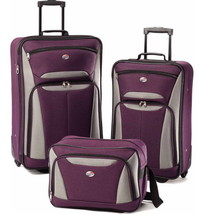 American Tourister Fieldbrook II 3 Piece Set Luggage Light weight Durabe... - $123.97