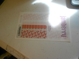 Jamberry Junior Nail Wraps (new) Full Sheet BERRY CUTE - $17.64