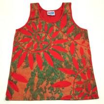 Neu Vintage Tahiti Art Maohi Tank Top Hemd Größe M - L Überall Bedruckt ... - $31.37