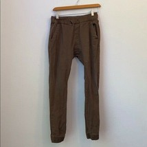 Boys RING OF FIRE SOLID BROWN PANTS SIZE 14 - $28.71