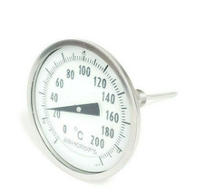 AHSCROFT 0-200 DEGREE C THERMOMETER image 1
