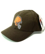 Cleveland Browns NFL 1990's Brown 20% Wool Logo Ball Cap (New)/ American... - $27.99