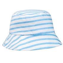 Fashion Stripe Sun-resistant Cotton Fisherman Baby Cap Infant Hat image 2