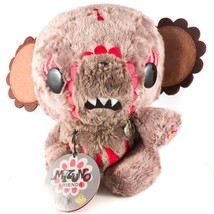 "Mizuno Junko Kuma San Plush 10"" Brown Red Tag Stuffed Animal Toy Friends - $25.63"